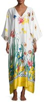 Natori Under the Sea Lounge Caftan, Multi Pattern