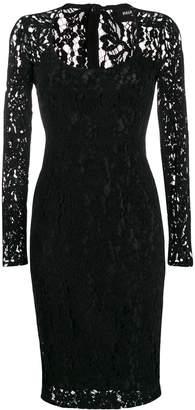Paule Ka lace detail dress