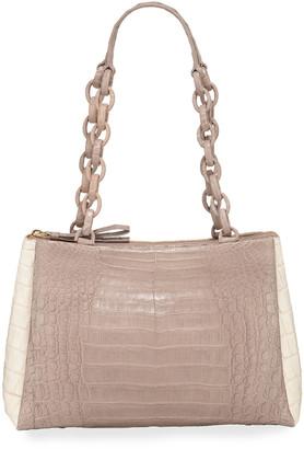 Nancy Gonzalez Medium Crocodile Shoulder Bag