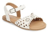 Kenneth Cole New York Toddler Girl's Daylo Perforated Sandal