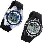 Lancardo LED 30M Waterproof Sports Digital Multi Function Watch For Child Boys Silicon Band(&Black)