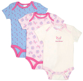 Cutie Pie Baby Cream 'Special Butterfly' & Pink Floral Bodysuit Set - Infant