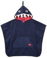 Joules Navy Shark Hooded Towel