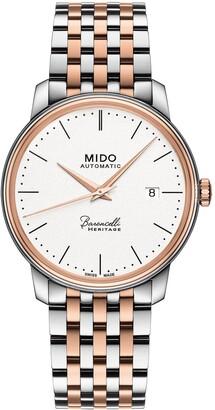 MIDO Baroncelli Heritage Automatic Bracelet Watch, 39mm