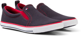 Tommy Hilfiger Navy Slip On Trainer