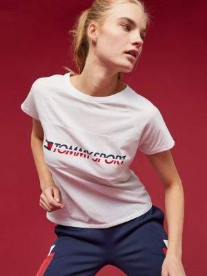 Tommy Hilfiger Colour-Blocked Logo T-Shirt