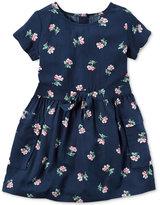 Carter's Floral-Print Pocket Dress, Toddler Girls (2T-4T)