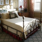 Queen Upholstered Four Poster Bed Corsican