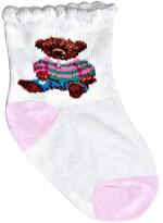 Ralph Lauren Infant Girls' Polo Girl Teddy Crew Socks - Sizes 0-6 Months