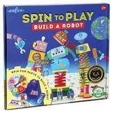 Eeboo Build a Robot Puzzle Spinner Board Game