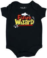 Bioworld Harry Potter Black 'Future Wizard' Bodysuit - Infant