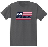 Men's House of Cards T-Shirt Charcoal