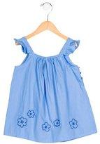 Jacadi Girls' Embroidered Sleeveless Top w/ Tags