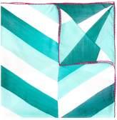 Faliero Sarti chevron pattern scarf