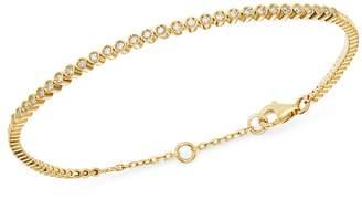 Bloomingdale's Bezel-Set Diamond Stacking Bracelet in 14K Yellow Gold, 0.25 ct. t.w. - 100% Exclusive