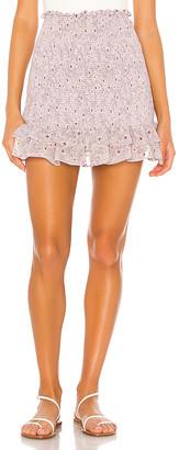 1 STATE Wildflower Bouquet Mini Skirt