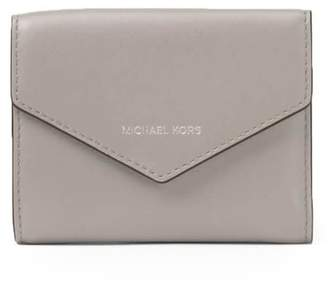 Michael Kors Blakely Pearl Grey Small Card Wallet