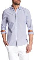 Scotch & Soda Woven Pinstripe Dress Shirt