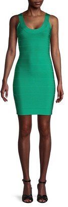 Herve Leger Sleeveless Bodycon Dress