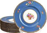 One Kings Lane Vintage 1920s Royal Doulton Dinner Plates, S/12