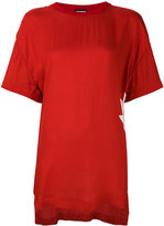 DSQUARED2 printed boyfriend T-shirt - women - Viscose - S