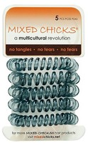 Mixed Chicks Spring Bands Charcoal 5 ct