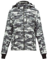 Aztech Mountain Nuke Quilted Camouflage-print Ski Jacket - Womens - Black Multi