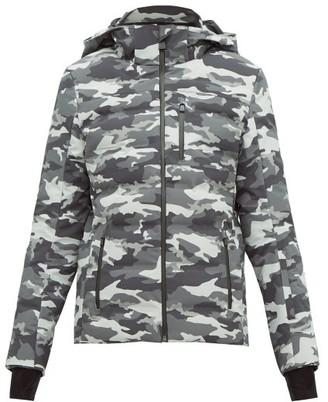 Aztech Mountain Nuke Quilted Camouflage-print Ski Jacket - Black Multi