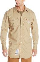 Carhartt Men's Big & Tall Flame Resistant Snap Front Shirt