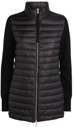 Moncler Padded Zip-Up Cardigan