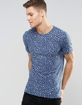 Benetton T-Shirt with All Over Floral Print