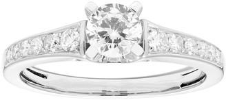 Platinum 3/4 Carat T.W. IGL Certified Diamond Engagement Ring