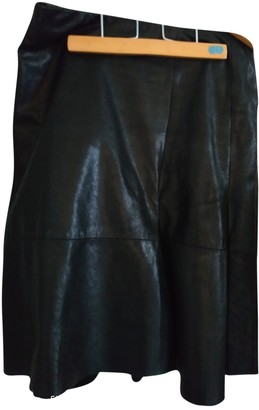 Bruuns Bazaar Black Leather Skirt for Women