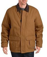 Dickies Men's Sanded Duck Insulated Jacket