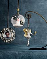 Michael Aram Snowman Globe Christmas Ornament