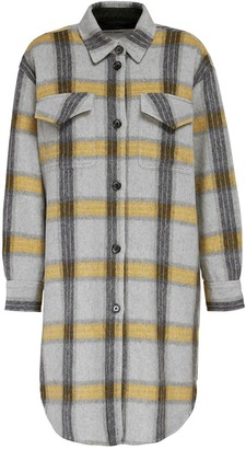 Designers Remix Amara Flannel Check Shirt Jacket