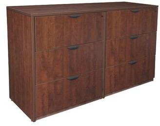 Latitude Run Linh Stand Up Side to Side 6-Drawer Lateral Filing Cabinet Latitude Run