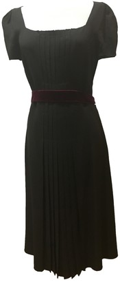 Prada Brown Viscose Dresses