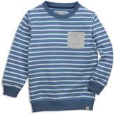 Sovereign Code Boys' Crewneck Striped Sweatshirt