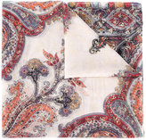 Etro Paisley print sequin embellished scarf - women - Silk - One Size