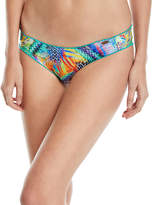 Luli Fama Crystallized Scalloped Swim Bottom