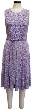 Charter Club Paisley-Print Tie-Waist Midi Dress, Created for Macy's