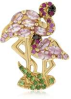 Leon Yvonne Paris FLAMINGO GOLD MONO EARRING