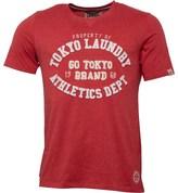 Tokyo Laundry Mens Montauk T-Shirt Tokyo Red Marl