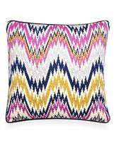 Jonathan Adler Lavender Worth Avenue Bargello Pillow