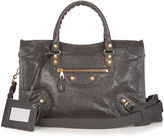 Balenciaga Giant City small leather cross-body bag