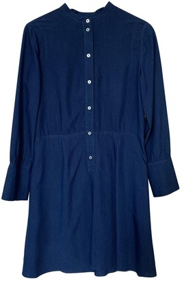 A.P.C. Blue Viscose Dresses