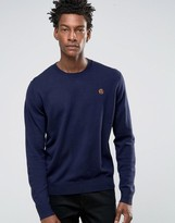 Paul Smith PS by Sweater With Crew Neck PS Logo In Navy