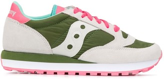 Saucony Colour-Block Low-Top Sneakers