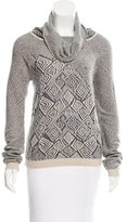 See by Chloe Jacquard Cowl Neck Sweater